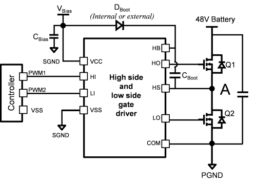 small resolution of given selected power mosfets and system power ratings the conduction loss is pre determined since the current ripple dependent root mean square rms