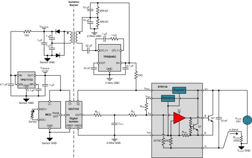 small resolution of figure 4 input sensor isolated 2 wire transmitter