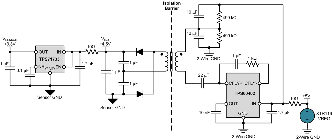 2-wire 4-20mA sensor transmitters: Designing Input