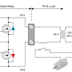 Solid State Relay Wiring Diagram Nail Plate How To Power Your Thermostat Using Relays Industrial Figure 2 Supply Of An Ssr In Hvac System