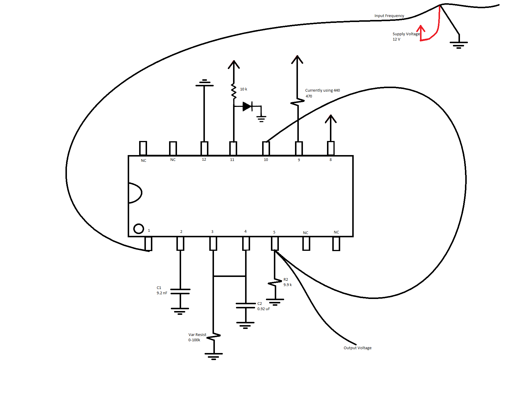 Resolved Lm N Creating A Simple Frequency To Voltage Converter Circuit