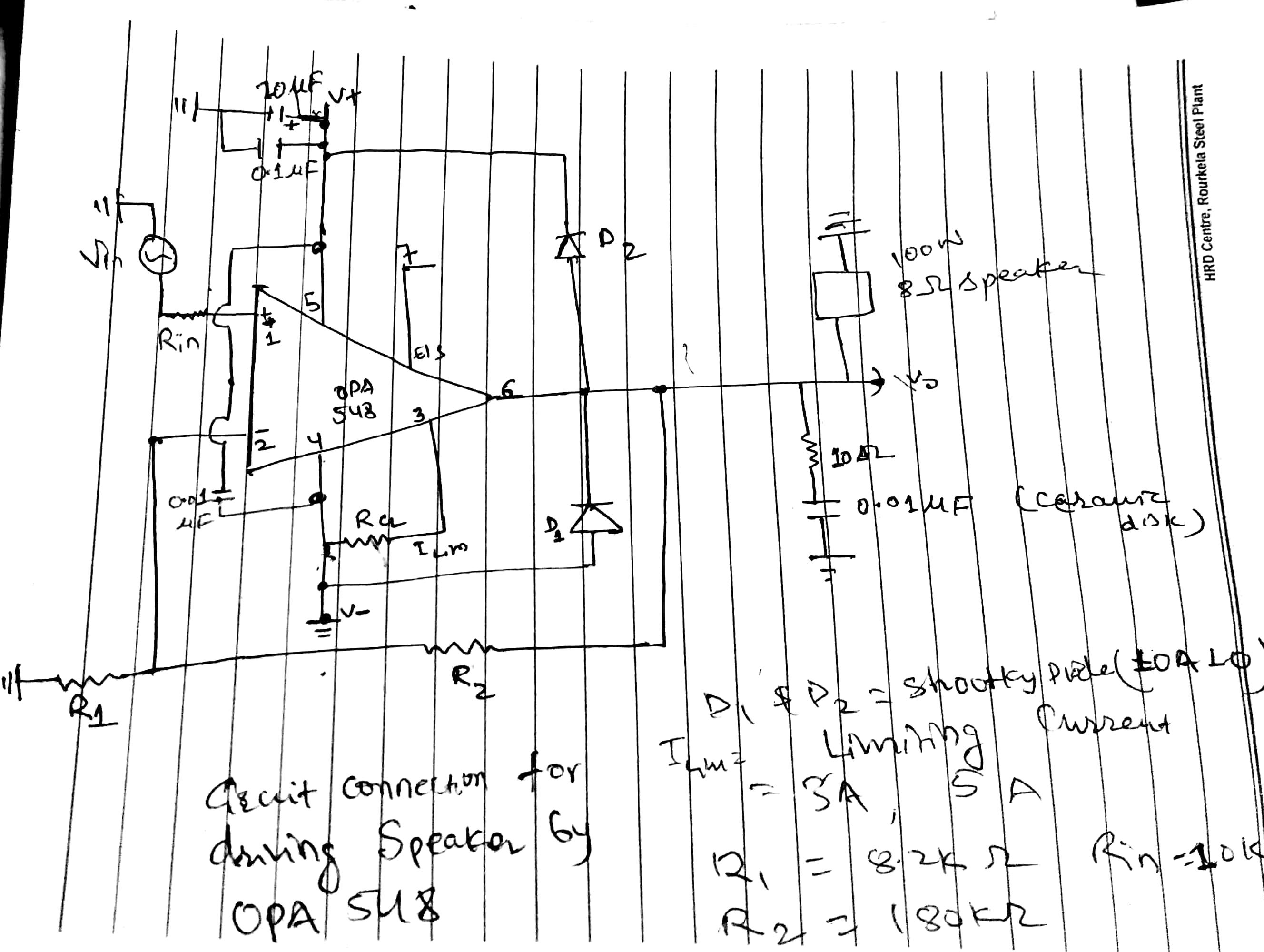 Opa548 Sudden Decrement In Output Despite Constant Input