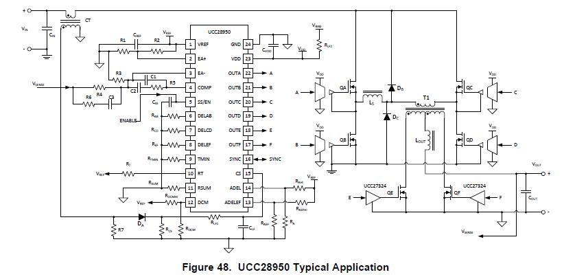 [Resolved] UC3879: Phase shifted full bridge converter