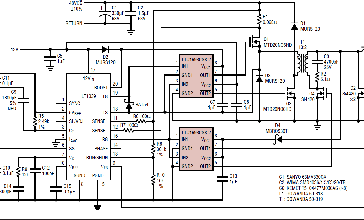 Interfacing High Side PWM FET Driver to UCC27210 Input