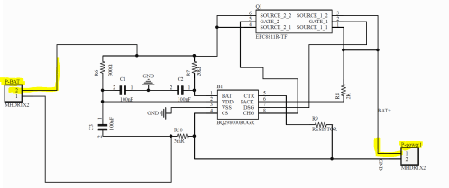 small resolution of bq2980 single battery protection is the schematic for bq2980 correct and what if i add ptc