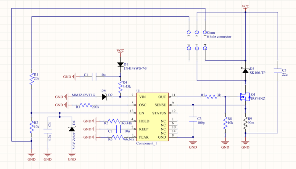 medium resolution of drv110 pwm signal fet not coming fully on every time