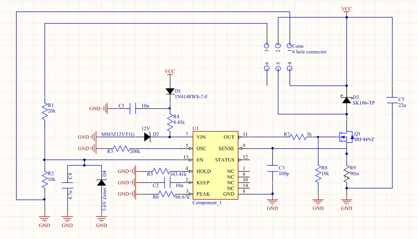 hight resolution of drv110 pwm signal fet not coming fully on every time
