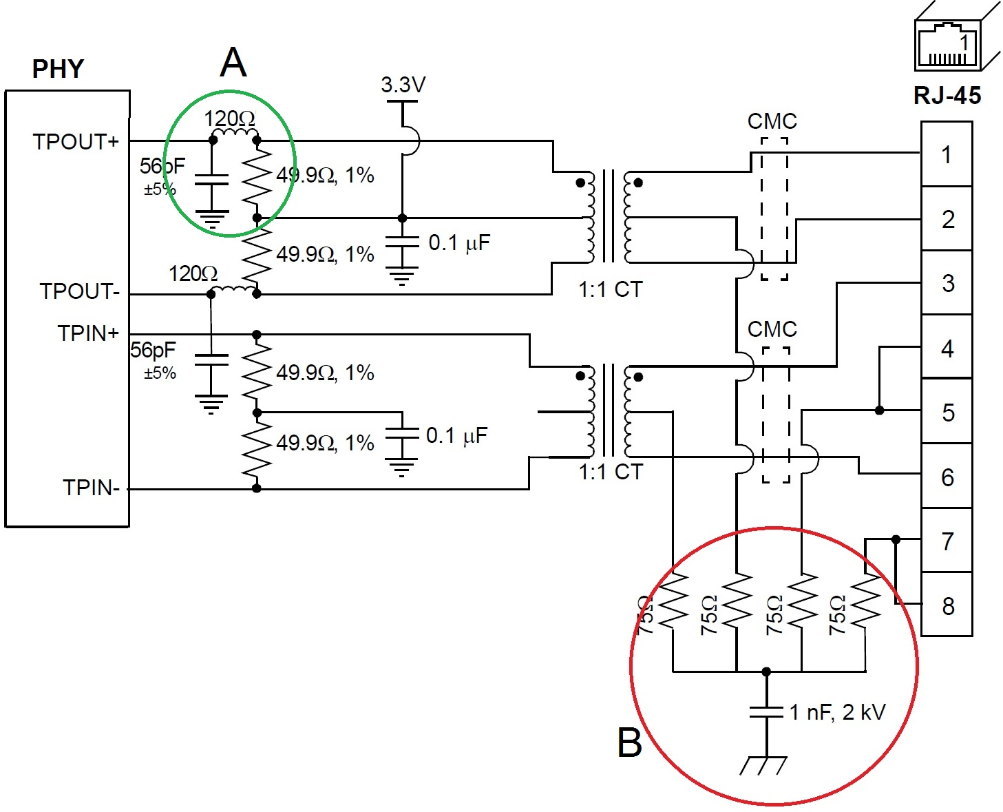 Tpd8f003 For Ethernet Rs 485 Can