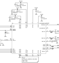 the i2c signals are pulled up on another schematic sheet the schematic diagram is bellow and i would like to know whether is correct  [ 1404 x 842 Pixel ]