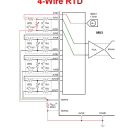 learn openenergymonitor circuit schematic as you can see has each rtd to connect to 3 channels 1 channel to [ 905 x 1023 Pixel ]