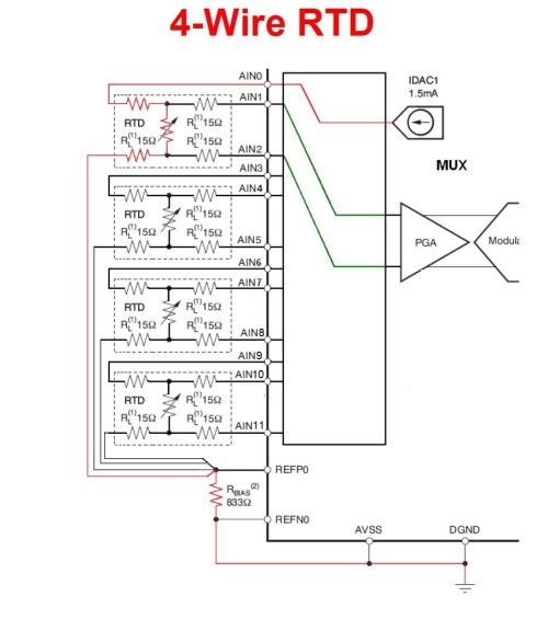 small resolution of learn openenergymonitor circuit schematic as you can see has each rtd to connect to 3 channels 1 channel to