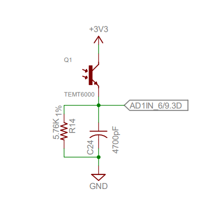 [Resolved] CCS/TMS570LS1224: Light Sensor does not respond