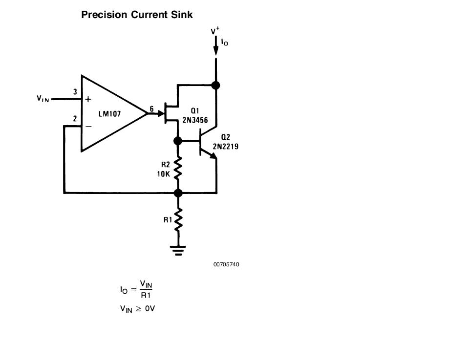[Resolved] Understanding this Precision Current Sink