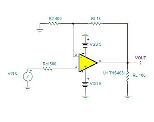 Preventing output polarity inversion in high-speed
