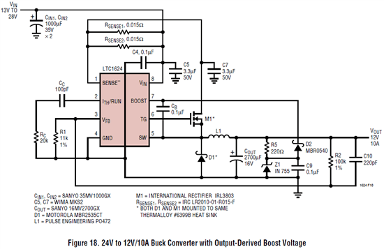 12V / 6A Power supply. Help with Buck and Boost converters