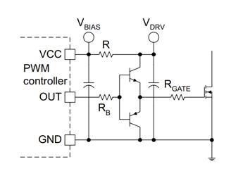 A bite-size gate drive: replacing BJTs with an integrated