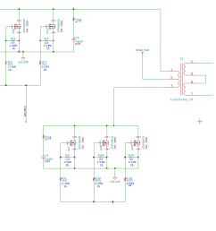 trace connects all mosfets on a single line but the shape of the gate signals varies from nearest mosfet to the mosfet at the far end why is that so  [ 1150 x 950 Pixel ]