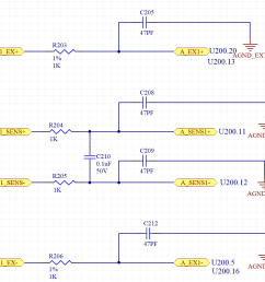so with this design there is no connection from iexc1 to the input measurement or the reference input so for a 2 wire rtd we must use external jumpers from  [ 949 x 861 Pixel ]