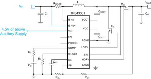 Extend the input-voltage range of boost controllers