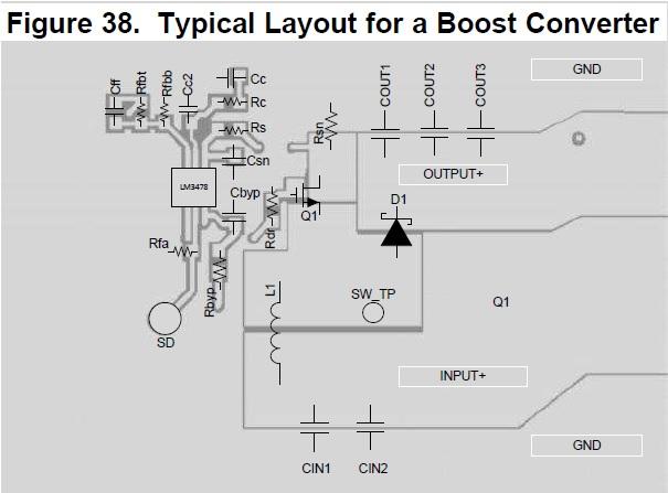 LM3478MM由3.7V升壓到12V沒有正常工作。上電燒MOS管。求助 - 電源管理 - 電源管理 - E2E™ 中文支持論壇