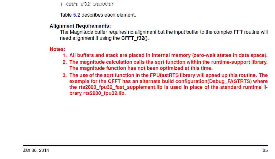 如果使用 rts2800_fpu32_fast_supplement.lib 代替rts2800_fpu32.lib - C2000™ 32位實時 MCU - C2000™ 32位實時 MCU - E2E™ 中文支持 ...