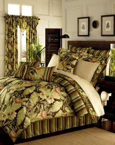 Hoe maak je een tropische slaapkamer te ontwerpen  E2R