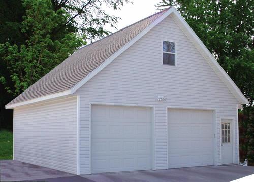 26 x 28 x 9 2Car RoominAttic Garage at Menards