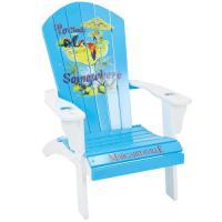 "Margaritaville ""It's 5 O'Clock"" Wood Adirondack Chair at ..."