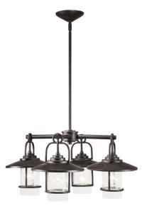 Patriot Lighting Elegant Home Miner Bronze 4-Light ...