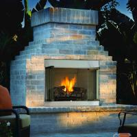 """IHP 42"""" Vent-Free Outdoor Fireplace - NG (Insert Only) at ..."""
