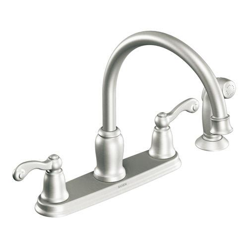 Moen Traditional Handle High Arc Kitchen Faucet Menards