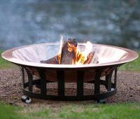 Premium 40'' Copper Fire Pit at Menards