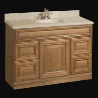"Pace Plantation Series 48"" x 21"" Vanity with Drawers at ..."