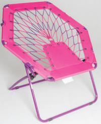 Pink bungee chair - Lookup BeforeBuying