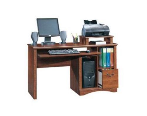 Sauder Camden County Planked Cherry Computer Desk at Menards
