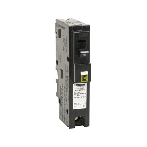 Combination Arc Fault Miniature Circuit Breaker 20 Amp 120 Volt Ac