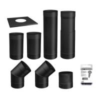 To The Wall Stove Pipe Kit - 6-Inch Diameter at Menards