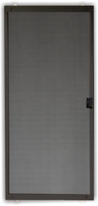 """36"""" x 80"""" Standard Bronze Aluminum Replacement Patio Door ..."""