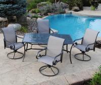 Backyard Creations 5-Piece Saratoga Dining Collection at ...