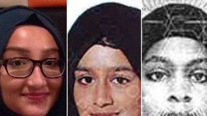 Kadiza Sultana, Shamima Begum, Adiza Abase