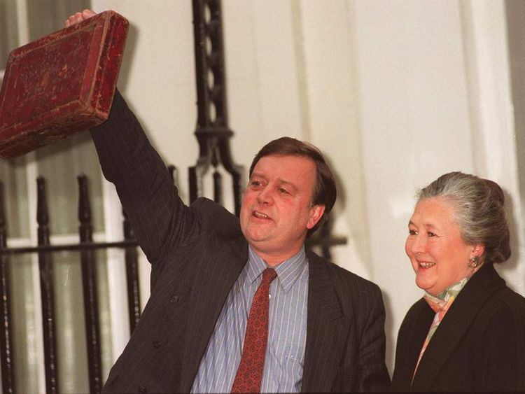 Ken and Gillian Clarke in 1994