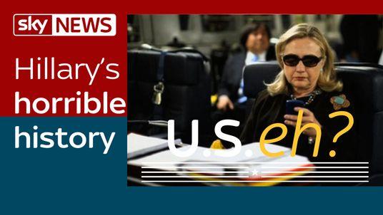 Hillary's Horrible History: Why isn't she winning easily?