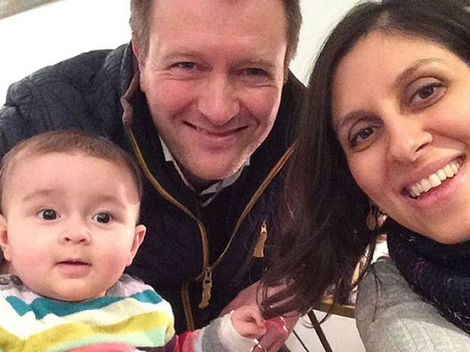 Richard  Ratcliffe is fighting for the release of his wife