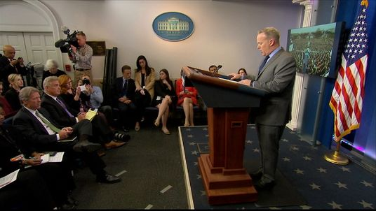 Sean Spicer, the White House press secretary
