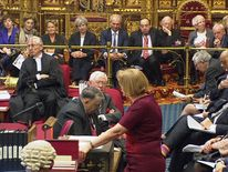 Theresa May in the House of Lords