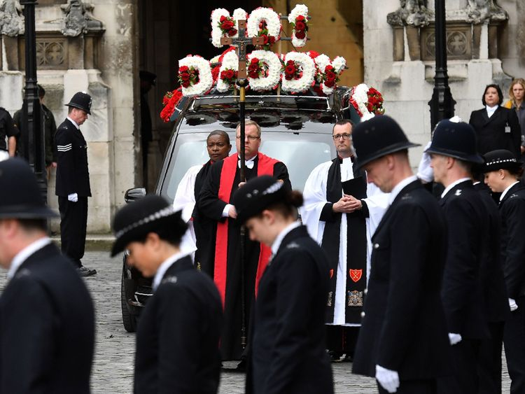 Funeral for PC Keith Palmer
