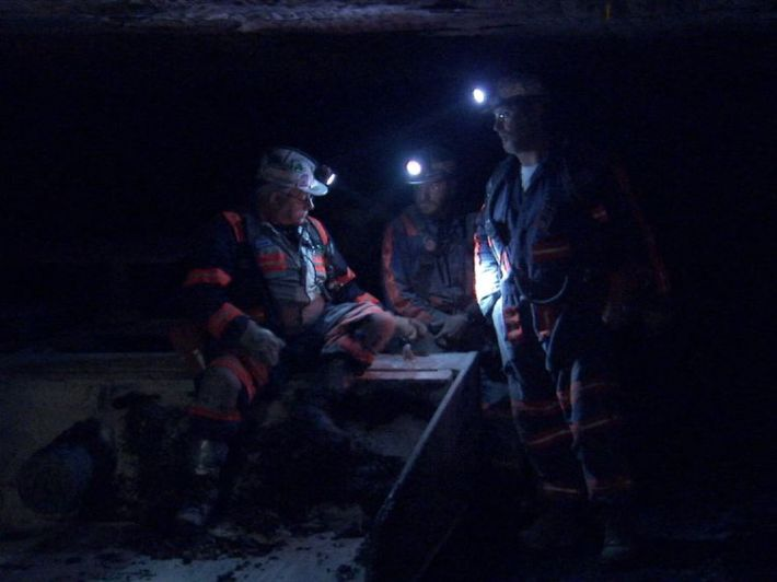 Miners are hoping that President Trump will turn their industry around