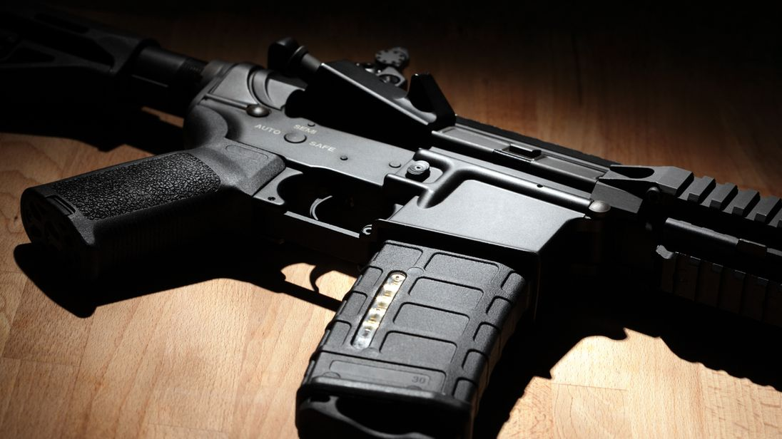 Criminals are now using high-powered rifles including AR-15s and AK-47s on the streets
