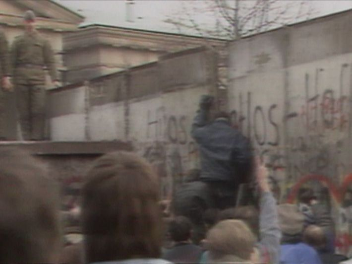 The Berlin Wall is torn down in 1989