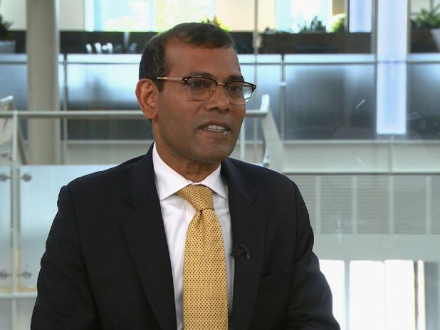 Former president of the Maldives Mohamed Nasheed